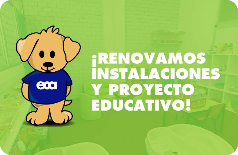 Renovamos Instalaciones y Proyecto Educativo